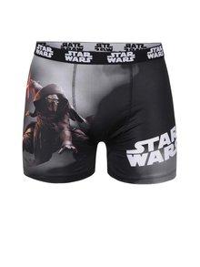 Šedo-černé boxerky Star Wars