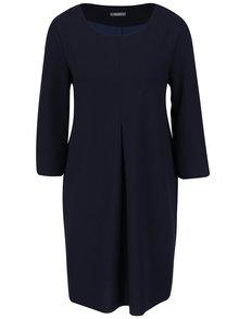 Tmavě modré volnější šaty s 3/4 rukávy ZOOT