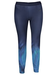 Modré dámske legíny Nike Sportswear
