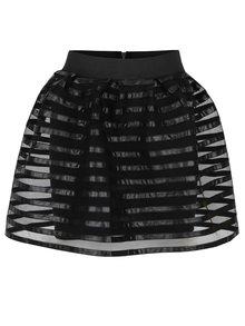 Černá pruhovaná sukně TALLY WEiJL