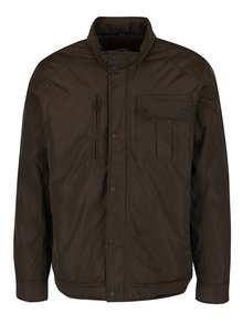 Tmavě hnědá bunda Burton Menswear London