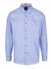 Svetlomodrá melírovaná formálna košeľa Burton Menswear London