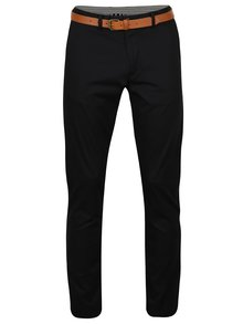 Pantaloni chino negri slim fit  - Selected Homme Hyard