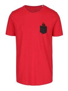 Červené pánske tričko ZOOT Originál Vo vrecku