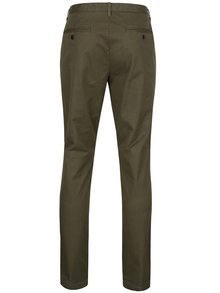 Khaki chino nohavice Jack & Jones Marco