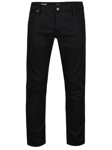 Jeanși negri slim fit Jack & Jones Glenn
