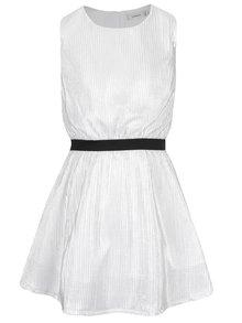 Bílé holčičí lesklé šaty name it Othili