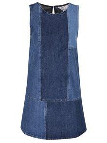 Rochie albastră din denim Miss Selfridge fără mâneci