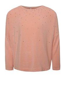 Bluză roz prăfuit name it Kaitlyn cu aplicații