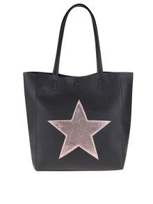 Geantă shopper neagră Haily´s Stellina