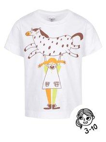 Bílé holčičí triko ZOOT Kids - Pipi