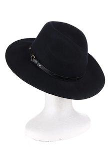 Tmavomodrý vlnený klobúk Pieces Daniella