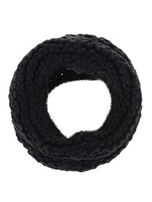 Fular circular negru VILA Craft