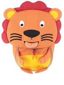 Oranžový batoh v tvare leva Affenzahn