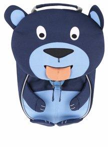 Tmavomodrý batoh v tvare medvedíka Affenzahn