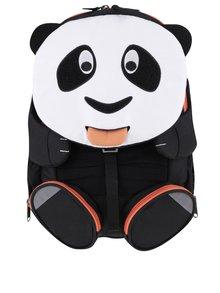 Rucsac negru cu alb Affenzahn în formă de panda