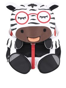 Čierno-biely batôžtek v tvare zebry Affenzahn