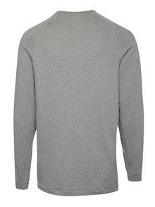 Bluză sport gri melange cu logo pentru barbati  Nike Modern