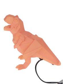 Oranžová lampa v tvare dinosaura Disaster Dinosaur