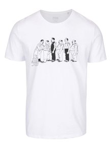 Biele pánske tričko ZOOT Originál Jos. Lada Antikorupce