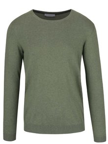 Svetlozelený ľahký sveter Selected Homme Seb