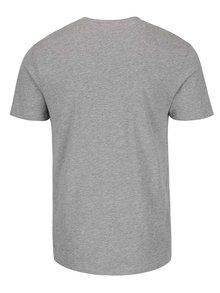 Svetlosivé tričko s gombíkmi Selected Niklas