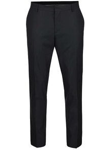Pantaloni gri închis Selected Homme Done Tuxleon cu model discret