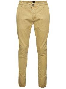 Béžové nohavice !Solid Joe Stretch