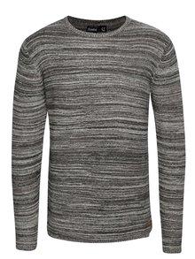 Sivý melírovaný sveter !Solid Fray