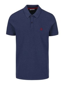 Tmavě modré polo triko Selected Homme Haro