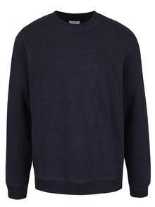 Bluză albastru închis cu decolteu rotund Burton Menswear London