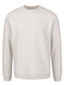 Bluză crem cu decolteu rotund Burton Menswear London