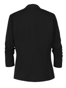 Černý blazer s 3/4 rukávy VILA Her