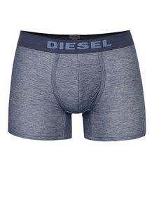 Boxeri albastru melange Diesel  cu logo