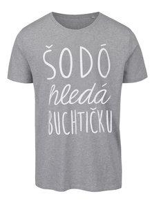 Šedé pánské tričko ZOOT Originál Šodó