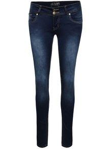Tmavě modré džíny s nízkým pasem Haily´s Kitty