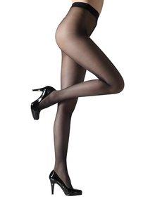 Černé tvarovací punčochové kalhoty Gipsy Invisible shaper 20 DEN