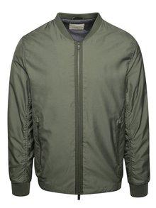 Jachetă bomber verde oliv Selected Homme Newlight