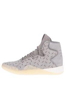 Pantofi sport înalți gri pentru bărbați adidas Originals Tubular Instinct