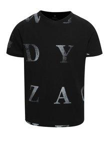 Čierne chlapčenské tričko s potlačou name it Dopal