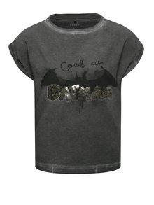 Tricou gri închis name it Batman pentru fete
