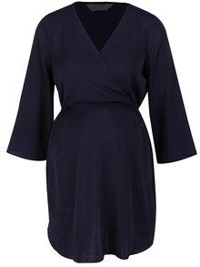 Bluză albastru închis Dorothy Perkins Maternity cu mâneci 3/4
