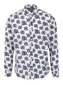 Biela košeľa s kvetinovým vzorom ONLY & SONS Floro