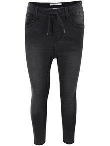 Jeanși gri închis cu aspect prespalat name it Tove pentru fetițe