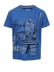 Modré klučičí triko s potiskem LEGO Wear