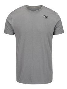 Světle šedé sportovní funkční triko Jack & Jones Basic