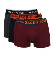 Set de 3 boxeri multicolori Jack & Jones Lichfield