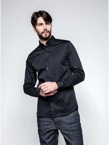Čierna formálna  slim fit košeľa Selected Homme Done