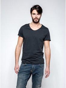 Tricou basic Selected Homme Merce negru