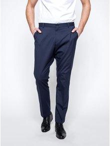 Tmavomodré oblekové nohavice Selected Homme Newone
